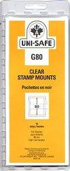 UNI-SAFE -  POCHETTES À FOND CLAIR G80 (PAQUET DE 10)