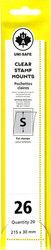 UNI-SAFE -  POCHETTES À FOND CLAIR S26 (PAQUET DE 20)