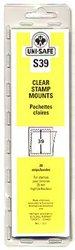 UNI-SAFE -  POCHETTES À FOND CLAIR S39 (PAQUET DE 20)