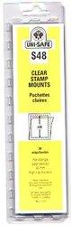 UNI-SAFE -  POCHETTES À FOND CLAIR S48 (PAQUET DE 20)