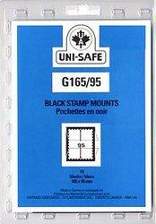 UNI-SAFE -  POCHETTES À FOND NOIR G165/95 (PAQUET DE 10)