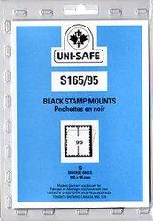 UNI-SAFE -  POCHETTES À FOND NOIR S165/95 (PAQUET DE 10)