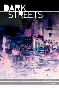 URBAN SHADOWS -  DARK STREET - COUVERTURE RIGIDE (ANGLAIS)