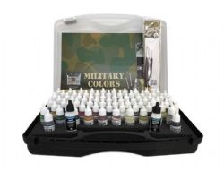 VALLEJO MODEL COLOR BOX SET -  COULEURS MILITAIRES