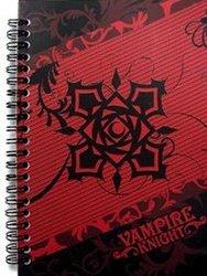 VAMPIRE KNIGHT -  LOGO ROSE CROSS - CAHIER DE NOTES