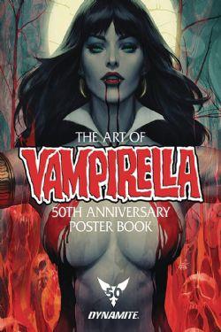 VAMPIRELLA -  20 REMOVABLE POSTERS - STANLEY LAU ARTGERM - -  VAMPIRELLA 50TH ANNIVERSARY