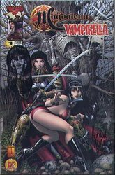 VAMPIRELLA - THE MAGDELENA -  COMIC SIGNE PAR ARTHUR ADDAMS - #1 2003 (99 EXP)