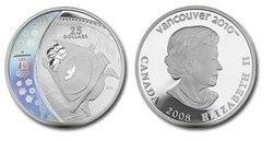 VANCOUVER 2010 -  LE BOBSLEIGH -  PIÈCES DU CANADA 2008 10