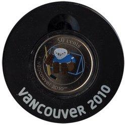 VANCOUVER 2010 -  QUATCHI - MASCOTTE DES JEUX OLYMPIQUES DE VANCOUVER 2010 -  PIÈCES DU CANADA 2010