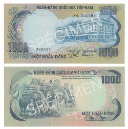 VIÊT NAM DU SUD -  1000 DONG 1972 (UNC)