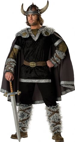 VIKINGS -  COSTUME DE GUERRIER VIKING (ADULTE)