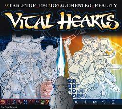 VITAL HEART -  TABLETOP RPG OF AUGMENTED REALITY (ANGLAIS)