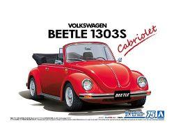 VOLKSWAGEN -  15ADK BEETLE 1303S CABRIOLET '75 - 1/24