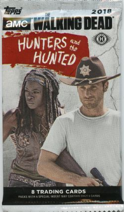 WALKING DEAD -  TRADING CARDS - HUNTERS AND THE HUNTED (P8/B24)