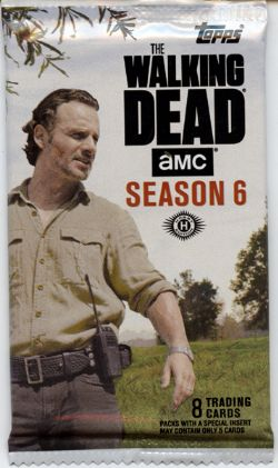 WALKING DEAD -  TRADING CARDS - SEASON 6 (P8/B24)