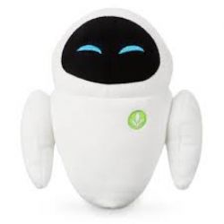 WALL-E -  MINI PELUCHE EVE (19 CM)