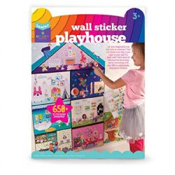 WALL STICKER -  PLAYHOUSE (MULTILINGUE)