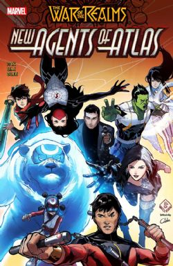 WAR OF REALMS -  NEW AGENTS OF ATLAS TP