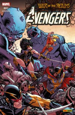 WAR OF THE REALMS -  LA CRISE DES ROYAUMES -  AVENGERS 01