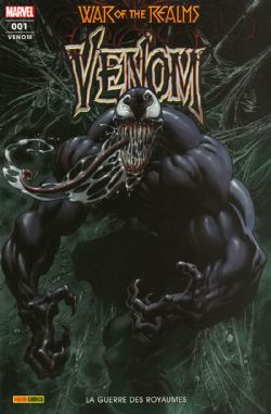 WAR OF THE REALMS -  LA GUERRE DES ROYAUMES -  VENOM 01