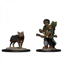 WARDLINGS -  BOY RANGER WITH WOLF