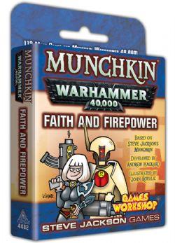 WARHAMMER 40,000 -  MUNCHKIN - FAITH AND FIREPOWER (ANGLAIS)