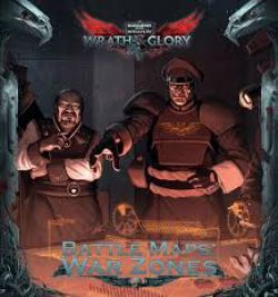 WARHAMMER 40,000 ROLE PLAY : WRATH & GLORY -  BATTLE MAPS: WAR ZONE (ANGLAIS)