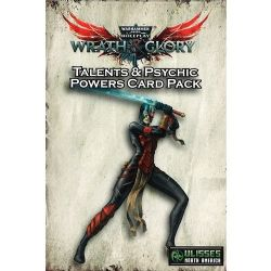 WARHAMMER 40,000 ROLE PLAY : WRATH & GLORY -  TALENTS & PSYCHIC POWERS CARD PACK (ANGLAIS)