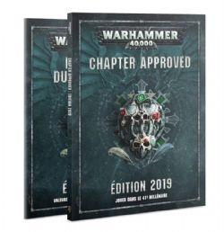 WARHAMMER 40K -  CHAPTER APPROVED (FRANÇAIS) -  ÉDITION 2019