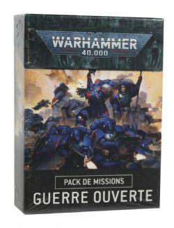 WARHAMMER 40K -  GUERRE OUVERTE (FRANÇAIS) -  PACK DE MISSIONS