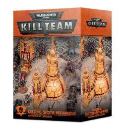 WARHAMMER 40K : KILL TEAM -  KILLZONE : MECHANICUS REFINERY (ANGLAIS)