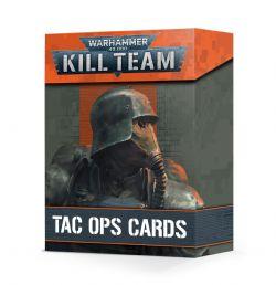 WARHAMMER 40K : KILL TEAM -  TAC OPS CARDS (ANGLAIS)