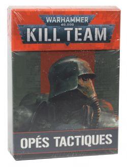 WARHAMMER 40K : KILL TEAM -  TAC OPS CARDS (FRANÇAIS)