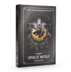 WARHAMMER 40K -  SPACE WOLF : 20TH ANNIVERSARY EDITION  (COUVERTURE RIGIDE) (ANGLAIS)