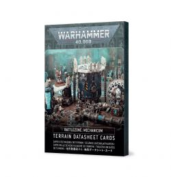 WARHAMMER 40K -  TERRAIN DATASHEET CARDS -  BATTLEZONE: MECHANICUM