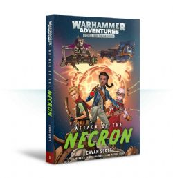 WARHAMMER ADVENTURES -  ATTACK OF THE NECRON (ANGLAIS) -  WARPED GALAXIES
