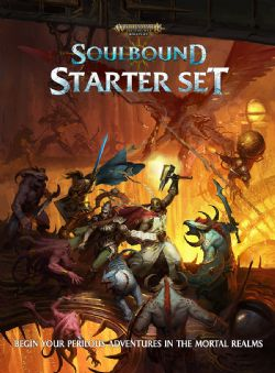 WARHAMMER AGE OF SIGMAR ROLE PLAY -  STARTER SET (ANGLAIS) -  SOULBOUND