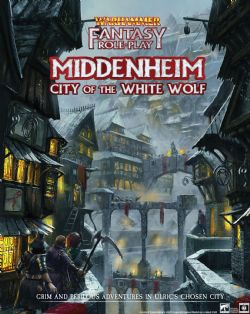 WARHAMMER FANTASY ROLE PLAY -  MIDDENHEIM CITY OF THE WHITE WOLF HC (ANGLAIS)