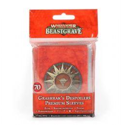 WARHAMMER UNDERWORLD : BEASTGRAVE -  GRASHRAK'S DESPOILERS PREMIUM SLEEVES