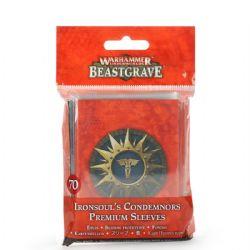 WARHAMMER UNDERWORLDS: BEASTGRAVE -  IRONSOUL'S CONDEMNORS PREMIUM SLEEVES (ANGLAIS)