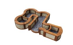 WARLOCK TILES -  ANGLES AND CURVES EXPANSION -  TOWN & VILLAGE