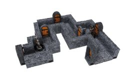 WARLOCK TILES -  STRAIGHT WALL EXPANSION -  DUNGEON TILES