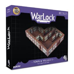 WARLOCK TILES -  TOWN & VILLAGE II - FULL HEIGHT PLASTER WALLS