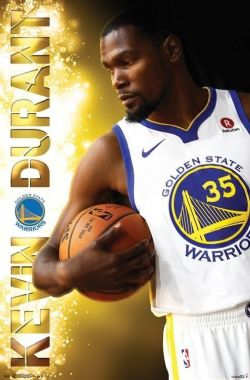 WARRIORS DE GOLDEN STATE -  AFFICHE