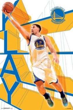 WARRIORS DE GOLDEN STATE -  AFFICHE KLAY THOMPSON (56 CM X 86.5 CM)