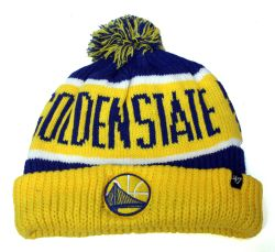 WARRIORS DE GOLDEN STATE -  TUQUE À POMPOM