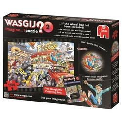 WASGIJ IMAGINE -  SI ON N'AVAIT PAS INVENTÉ LA ROUE (1000 PIÈCES) 2