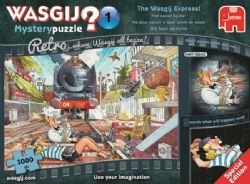 WASGIJ MYSTERY -  Le train Wasgij (1000 PIÈCES)
