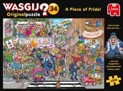 WASGIJ ORIGINAL -  A PIECE OF PRIDE (1000 PIÈCES) 34