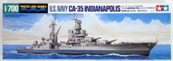 WATER LINE SERIES -  U.S. NAVY CA-35 INDIANAPOLIS 1/700